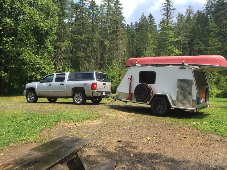 Off road tear drop camper