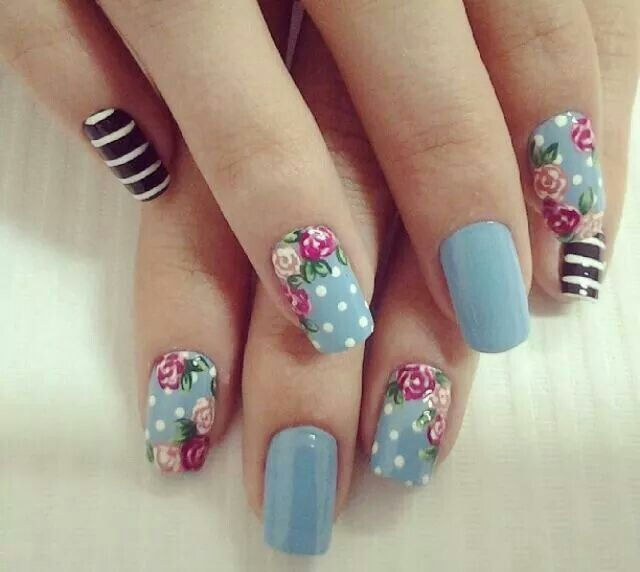 Gorgeous tose nails