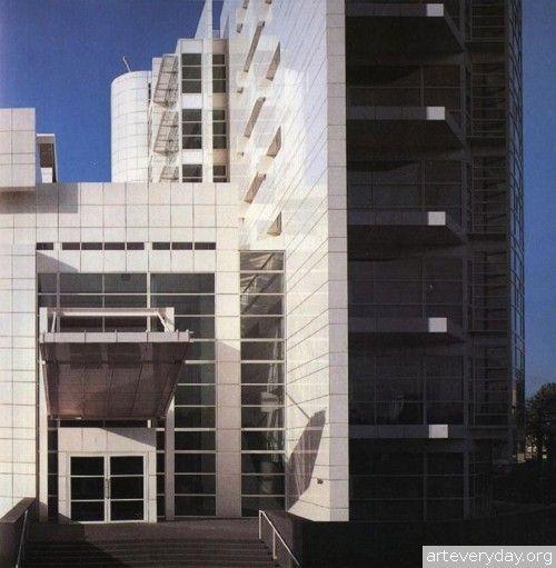 Richard_Meier_12 | Richard Meier - Ричард Мейер. Ведущий представитель американского авангарда. Книга содержит большое количество фотографий, представлены чертежи планов, фасадов и разрезов | ARTeveryday.org