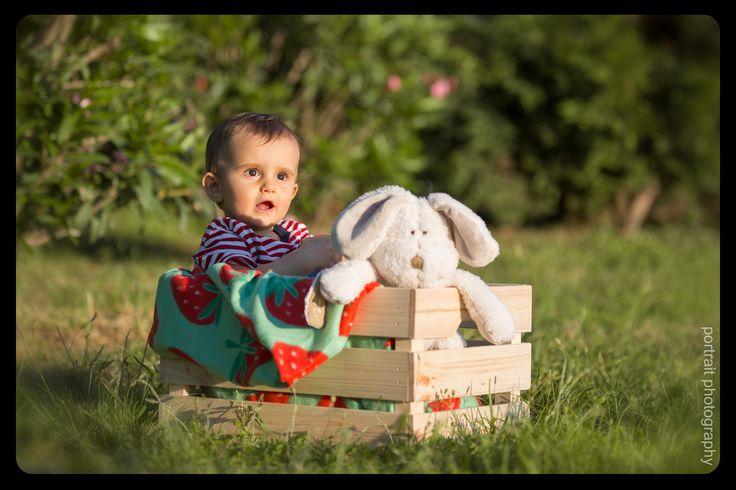 #baby #park #box #rabbit #babyphotoshooting