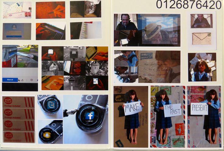 Year 12 Folio Board 2014. Caitlin Doran-Read.