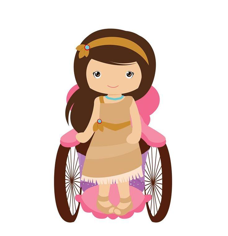 Pocahontas Cadeirante, Pocahontas, Disney, Cadeirante