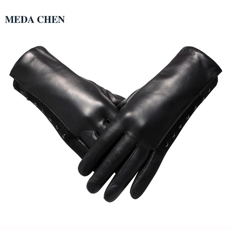 >> Click to Buy << 2017 Autumn And Winter Leather glove Top Grade Fashion women leather gloves Vintage black Diamond design #Affiliate