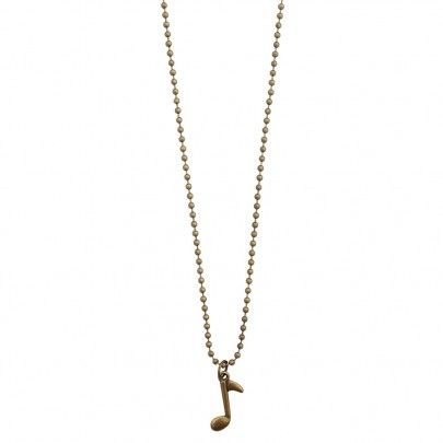 Musical Necklace Bronze - Note from Pentatonic Music - Rp 38.000