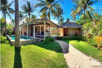 Les Villas Ottaliagili, Gili Trawangan - Own website