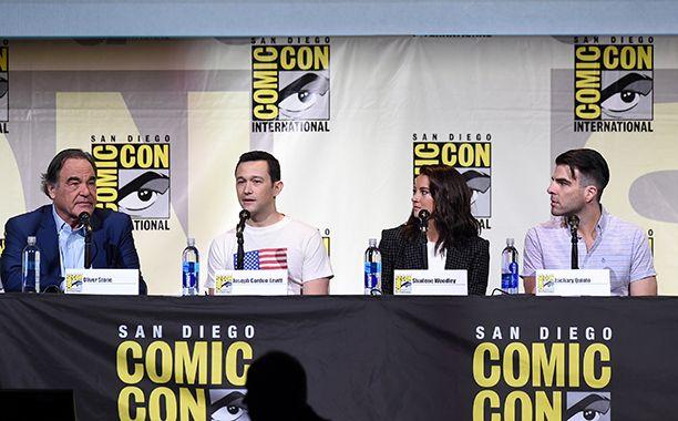 At ComicCon San Diego 2016.