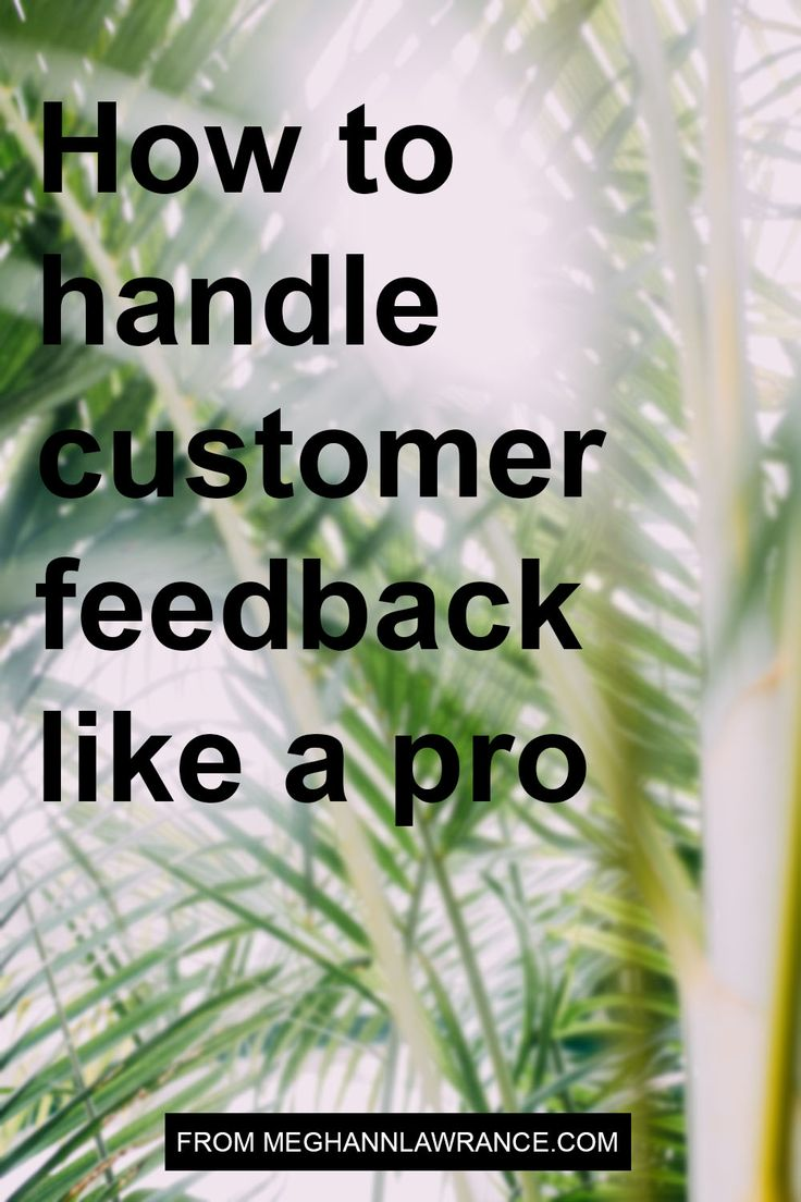 I know asking for feedback on your products or services when you're a small online business can be intimidating. When you don't have a big customer service team to back you up, it's easy to imagine being swamped by emails or having to take on the trolls single-handedly. What this means for you is that you need to have a process to ask for and respond to feedback.