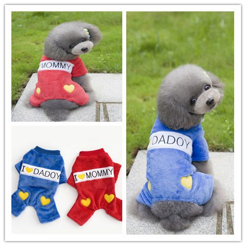 Y102 Newest  Winter clothes for pet dogs Warm Fleece 4 legs clothes Love Mommy Daddy Small mediumn dog Jumpsuit Overall clothes // FREE Shipping //     Get it here ---> https://thepetscastle.com/y102-newest-winter-clothes-for-pet-dogs-warm-fleece-4-legs-clothes-love-mommy-daddy-small-mediumn-dog-jumpsuit-overall-clothes/    #nature #adorable #dogs #puppy #dogoftheday #ilovemydog #love #kitty #kitten #doglover #catlover
