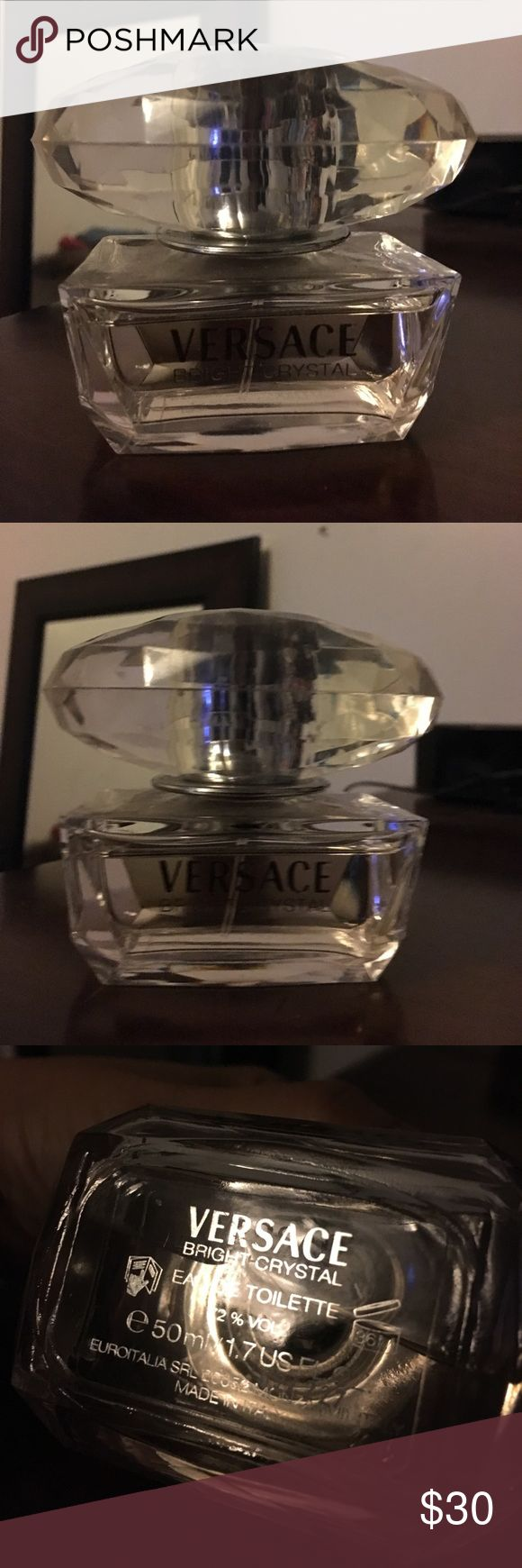 Versace Bright Crystal Perfume 95% full Versace Other