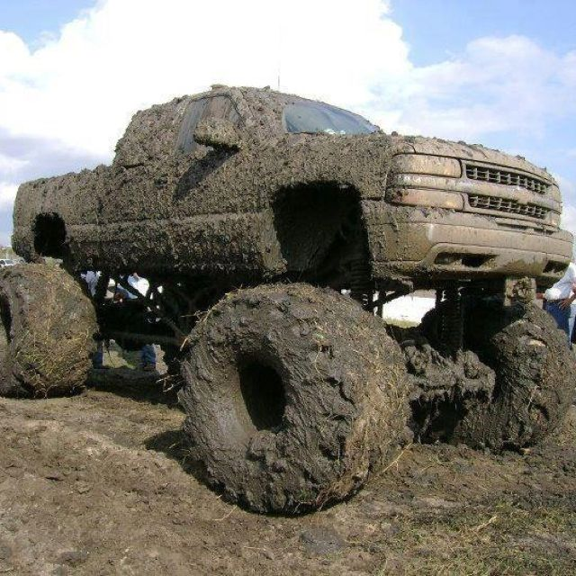 I want a big truck to take me back to the good ole days! You haven't lived unless you've been Muddin'!!