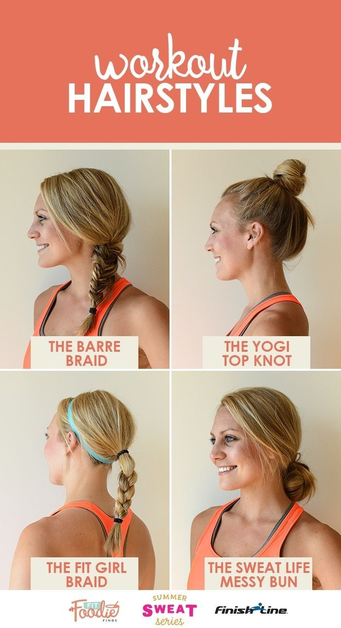 workout hairstyles curly hair