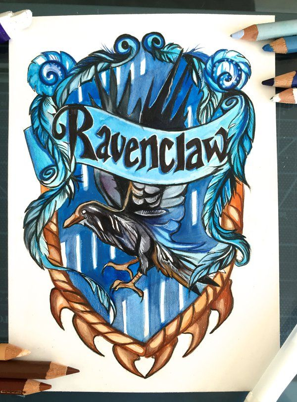 128- Ravenclaw by Lucky978.deviantart.com on @DeviantArt