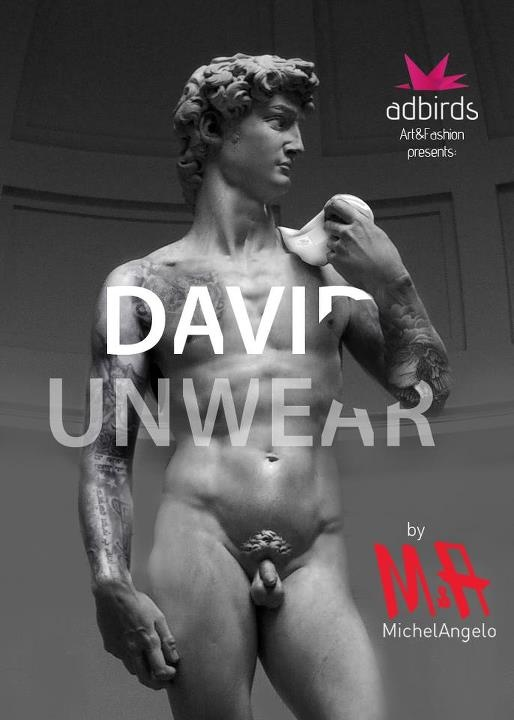 David, adbirds, underwear, advertising