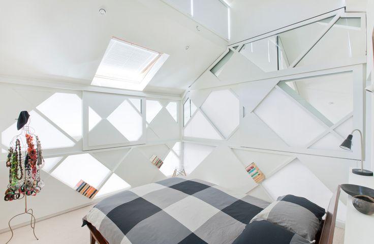 Duckbuild Architecture - Residential Interior - Loft Bedroom - Fitzroy Renovation, design collaboration