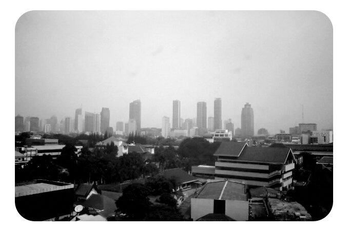 sky crapper from Menteng Jakarta