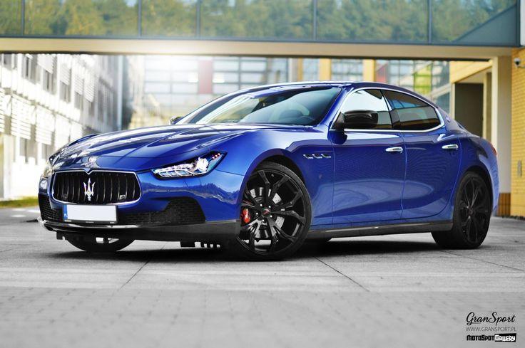 This Blue Looks Perfect. #Maserati Ghibli Novitec Tridente