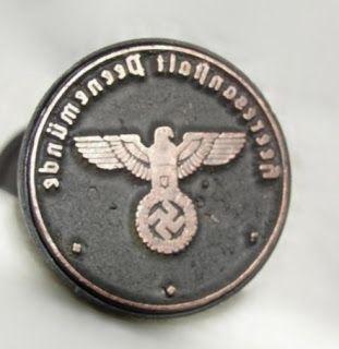 V2 ROCKET HEERESANSTALT PEENEMUNDE LUFTWAFFE STAMP INK SEAL INK STAMP GERMAN WW2 PRICE $39