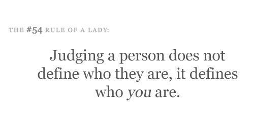 Judging: Happy Lady, Inspiration Quotes, Lady Quotes