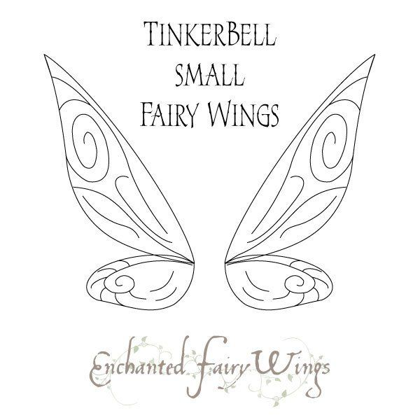 Pdf Download Pattern And Tutorial For Fairy Wings Tinker Bell