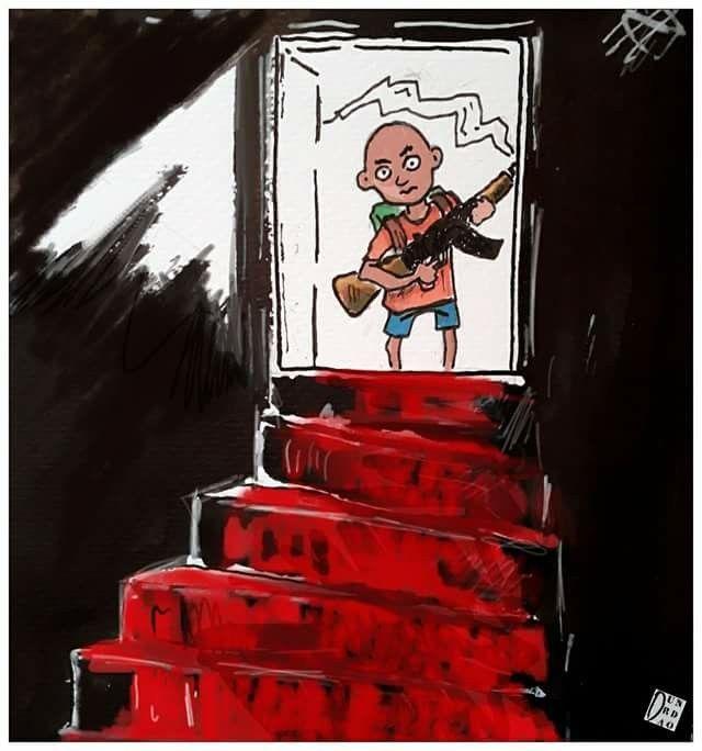 405 Best Des Enfants Dans Les Caricatures (guerre, Droits