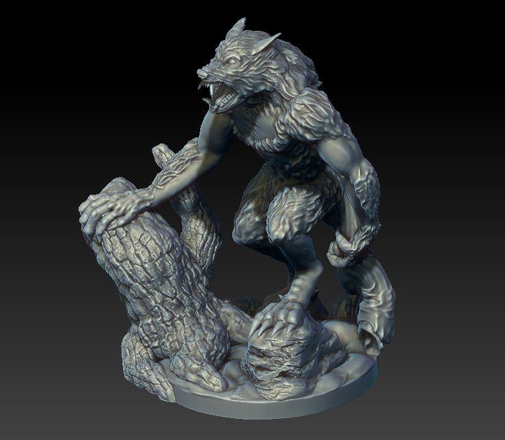 Finished Werewolf | Black Scrolls Games on Patreon
