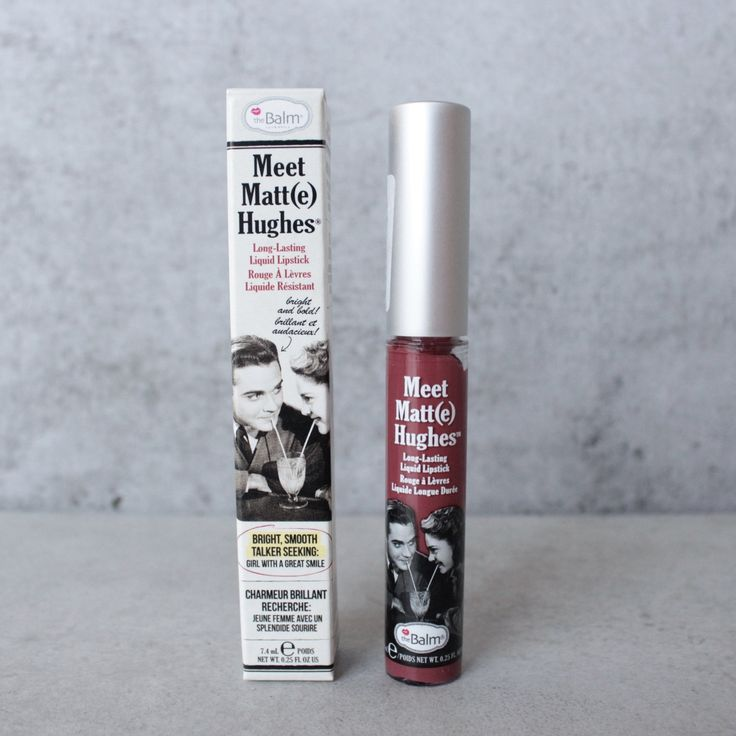 theBalm - Meet Matte Hughes Lip Color - Charming