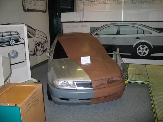 OG |1996 Skoda Octavia Mk1 | Scale clay model