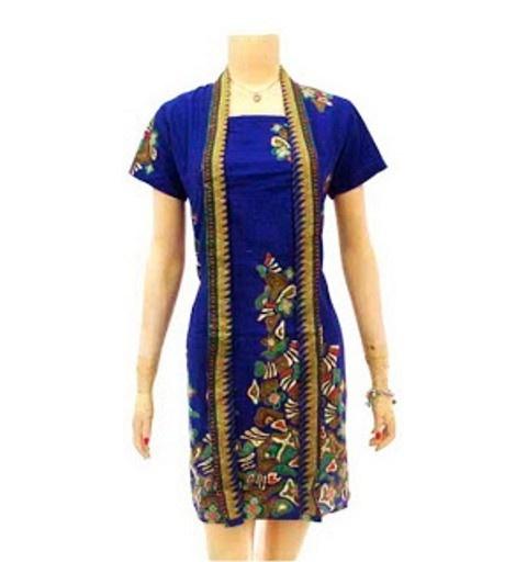 Model Baju Batik Modern Dress: Model Dress Batik Wanita Modern