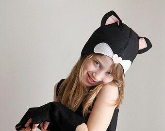 Chaton motif DIY costume masque couture tutoriel créatif jouer animaux de la forêt des idées pour les enfants bébé enfants Pâques vacances Halloween cadeau