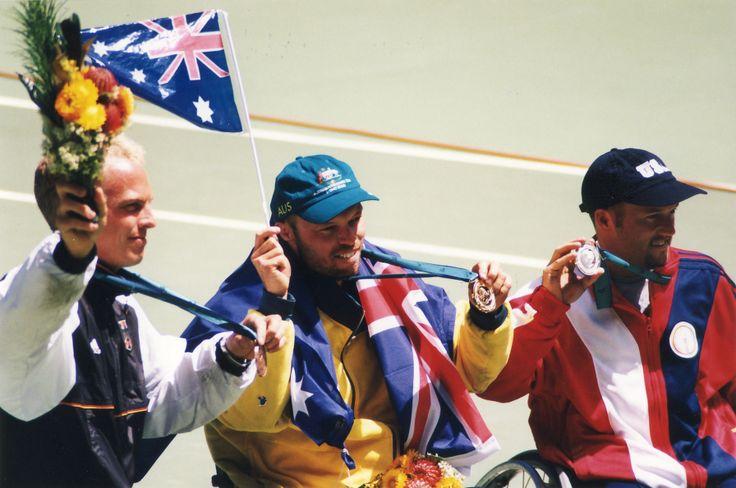 Sydney 2000 ParaOlympic Mens Singles Tennis Medalists