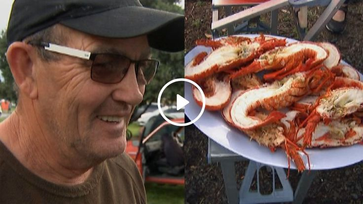 Watch: 'It's not hard to be kind' - local delivers fresh crayfish for those stranded in Kaikoura | 1 NEWS NOW | TVNZ