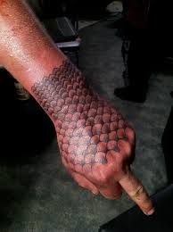 hawaiian fish scale tattoo - Google Search