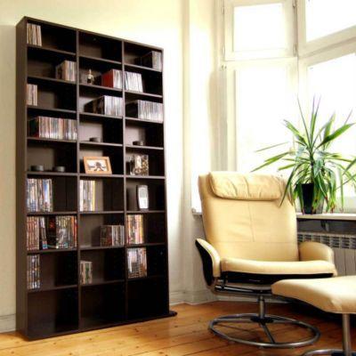 Benedomi CD DVD Regal Mocca Jetzt Bestellen Unter Moebelladendirektde Wohnzimmer Tv Hifi Moebel Cd Dvd Regale Uid427565ae 4e10 5909 A633