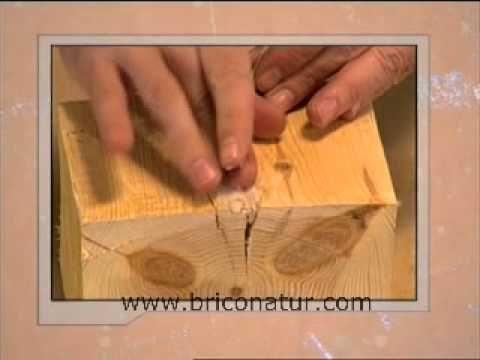Mejores 55 im genes de mis chapuzas preferidas en pinterest - Masilla para reparar madera ...