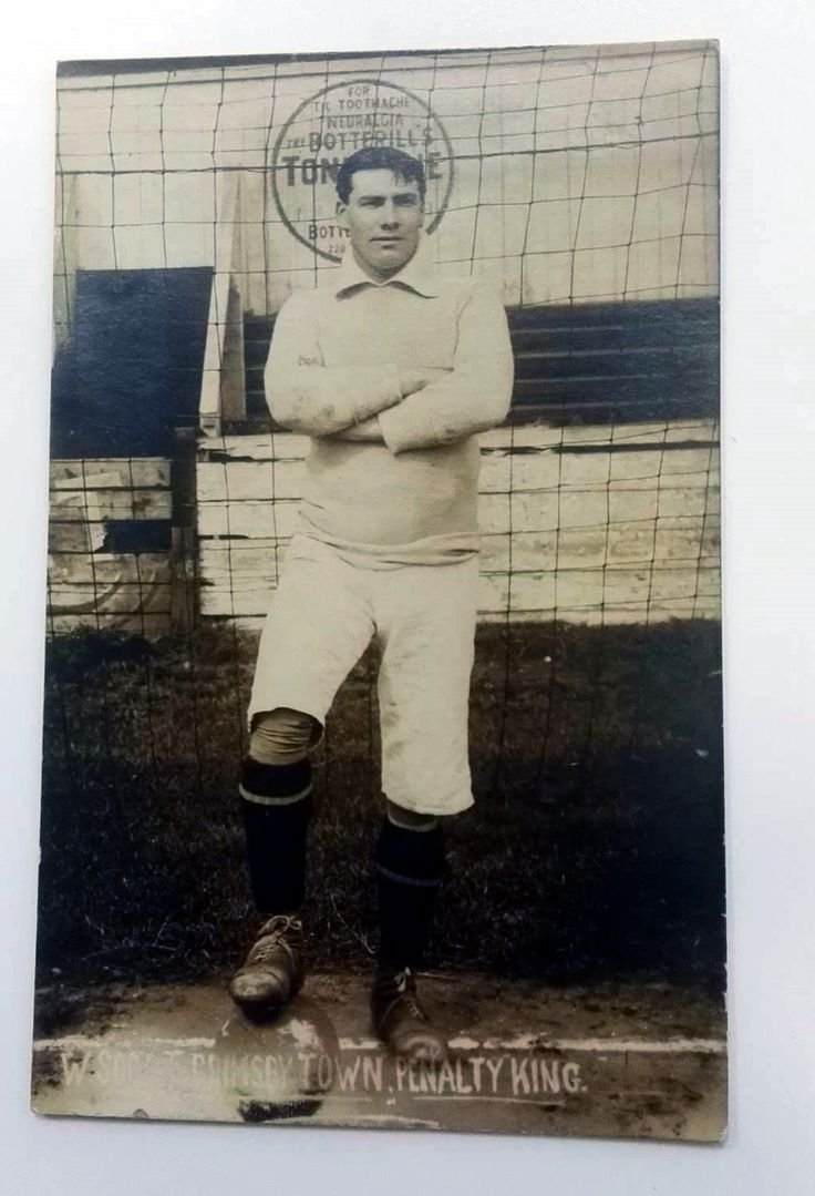 Walter Scott, Grimsby Town keeper 1907-09 and 1919