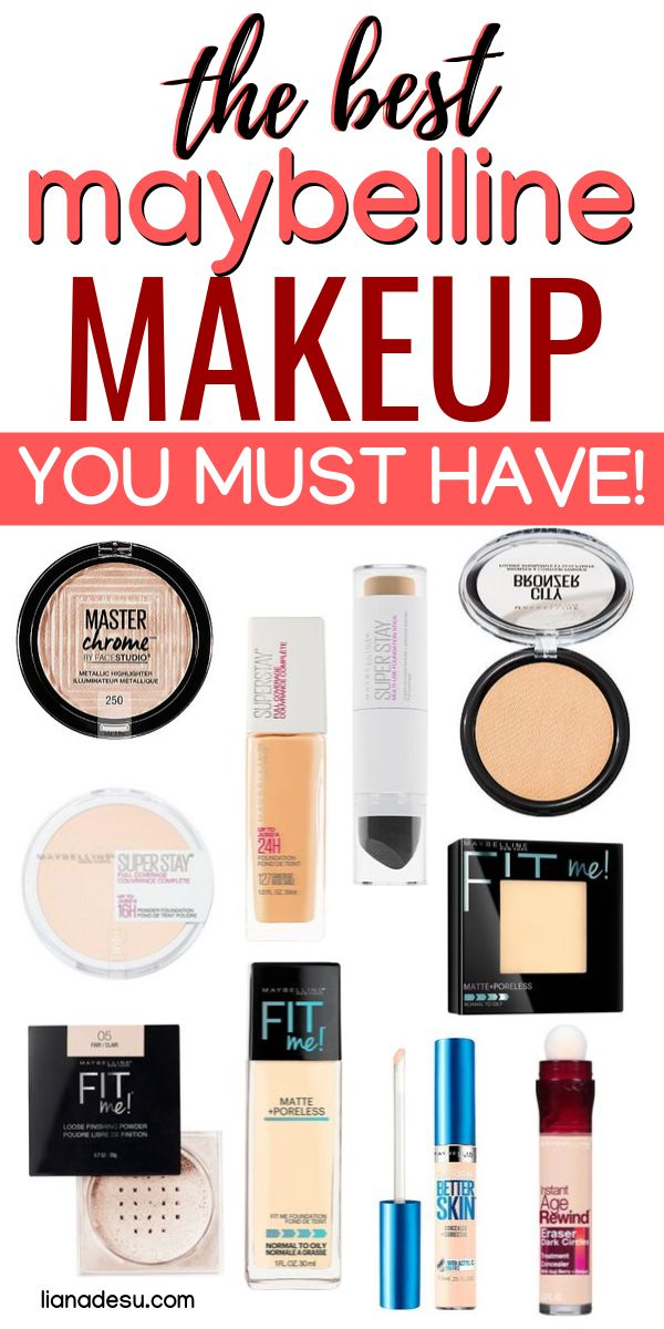 The Best Maybelline Makeup Products