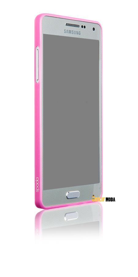 Spada TPU Samsung Galaxy A3 Pembe Silikon Kılıf