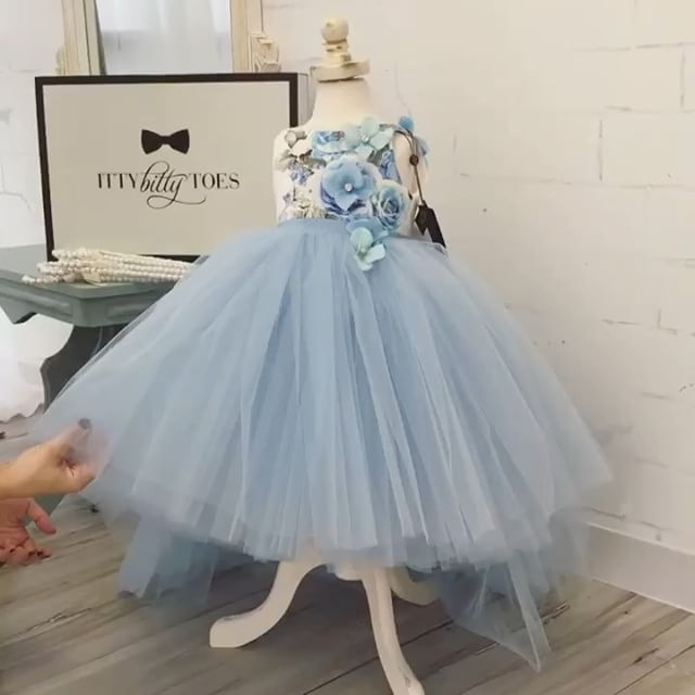 Sometimes a video is all you need to see the true beauty of a dress... Our Lili Dress is stunning and perfect for any little girl! In stock and ready to ship!  Shop  ittybittytoes.comittybittytoes