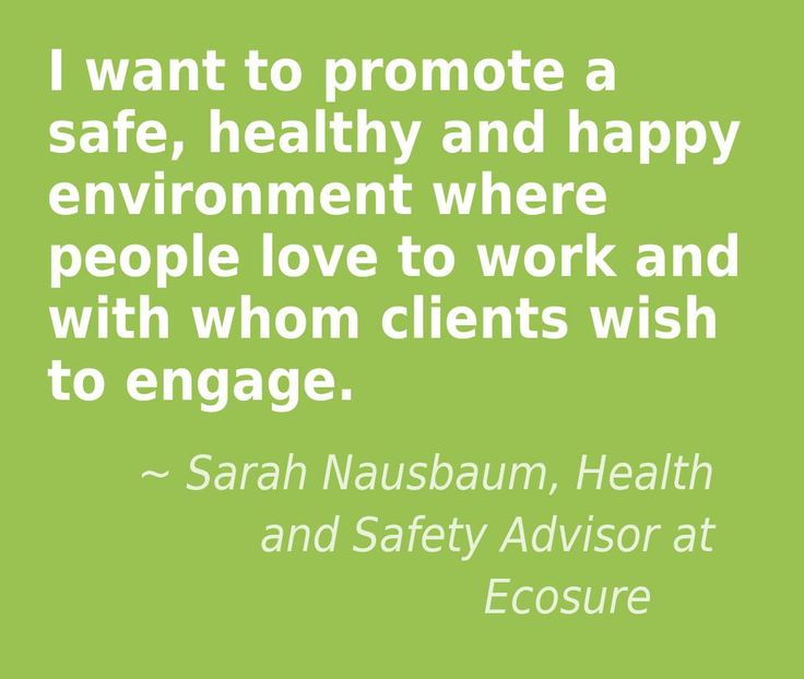 Safety, health and happiness