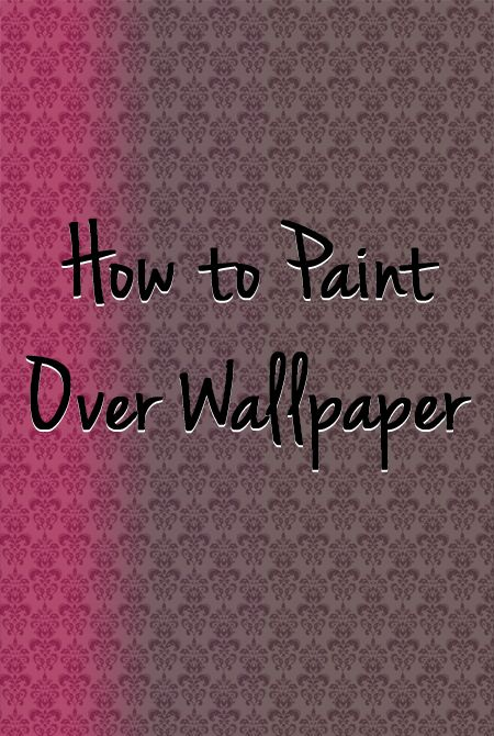 Painting over wallpaper is usually not suggested because the wallpaper may end up coming loose from the wall at a later time.  In most situations, you should remove the wallpaper before painting.  If you have a situation in which painting over wallpaper is desired, follow the instructions below to paint over wallpaper properly.
