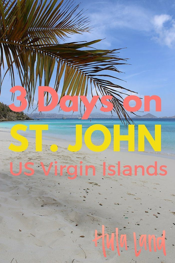 St Thomas Map Virgin Islands%0A   Day Itinerary for St John in the US Virgin Islands