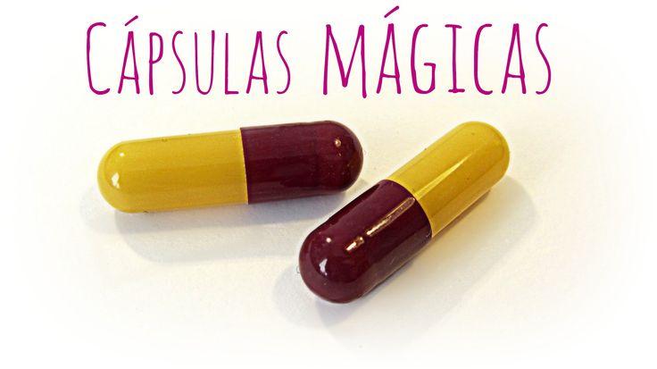 Como hacer cápsulas mágicas. Magic pills / capsules.
