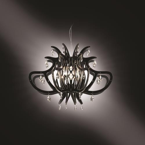 meer dan 1000 idee n over kristallen lampen op pinterest woonkamerverlichting kroonluchters. Black Bedroom Furniture Sets. Home Design Ideas