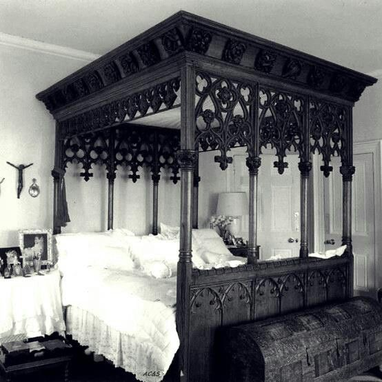 IDK how we would get this in the door, but I don't think I'd ever leave this bed once it was in place.