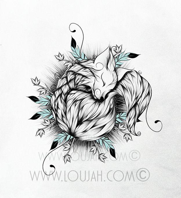 Little Fox by LouJah                                                                                                                                                                                 Plus