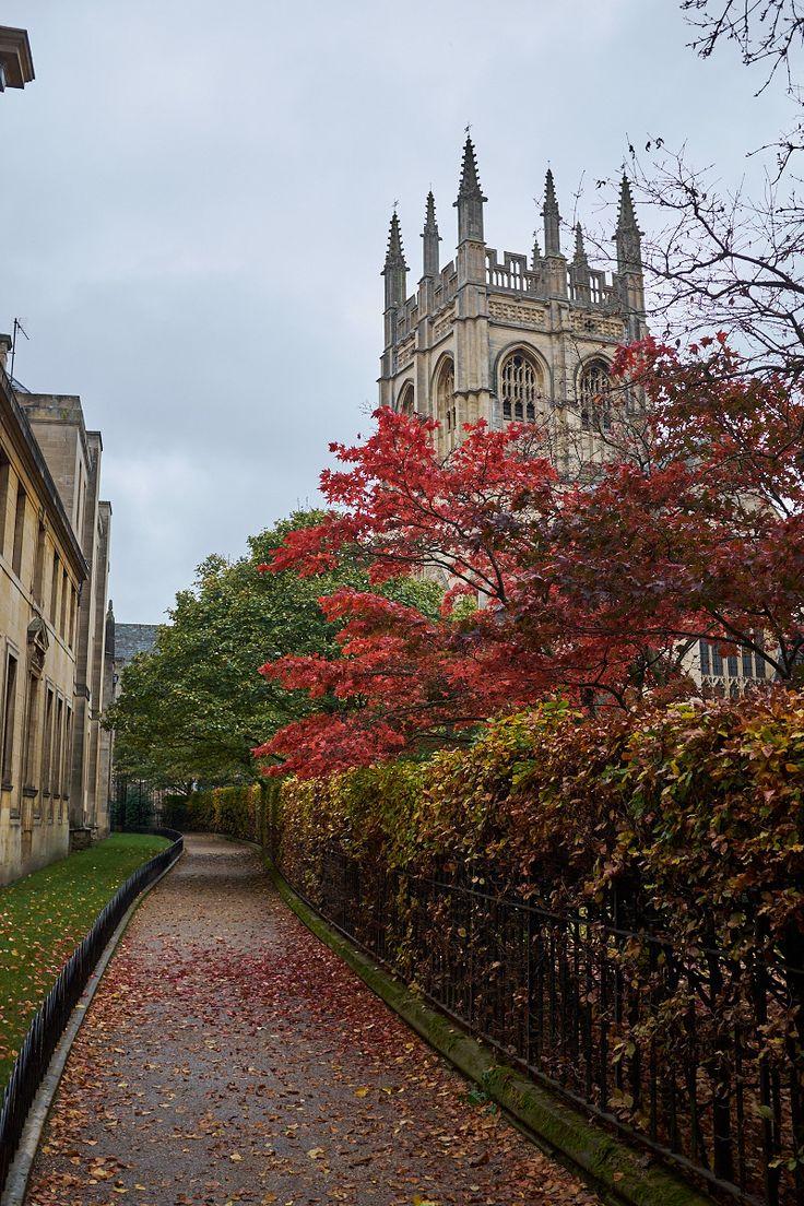 Oxford in Autumn