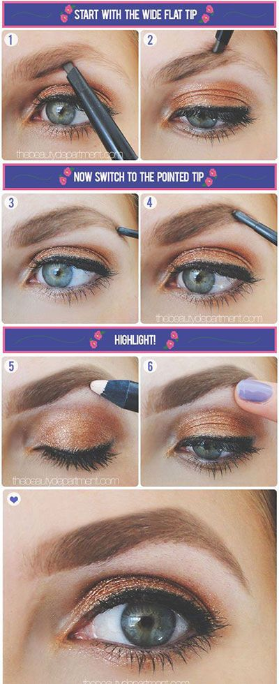 EASY ways to fill in your eyebrows