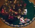 Bucilla Christmas Cookies Felt Christmas Tree Skirt Kit