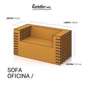 muebles carton - Kartelier   Muebles de cartón