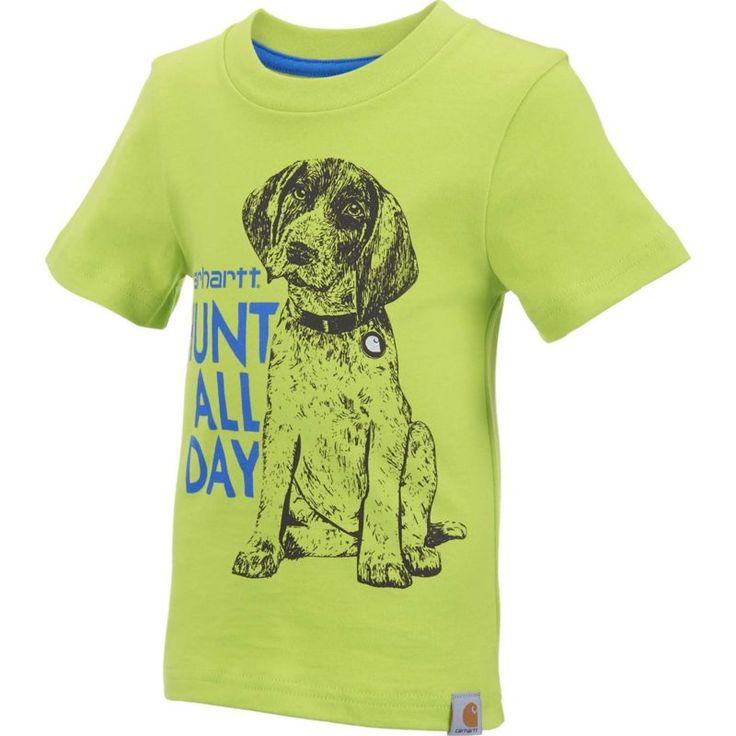 Carhartt Infant Boys' Hunt All Day T-Shirt, Size: 24M, Green